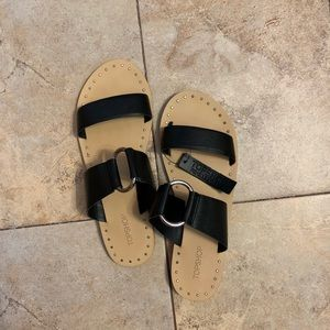 Topshop Leather Sandal New